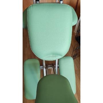Krzesło do masażu tatuażu składane jak nowe