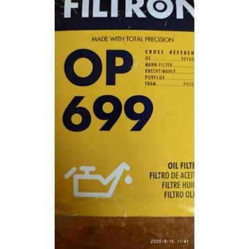 OP 699 FILTRON FILTR OLEJU