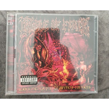 Cradle of filth - Lovecraft & Witch Hearts 2CD