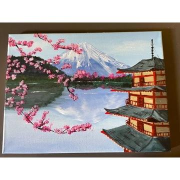 Obraz japoński, 30x40 cm