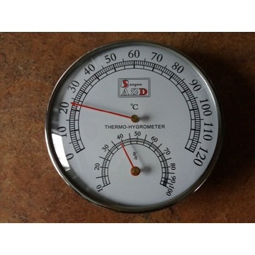 Termometr i higrometr do sauny