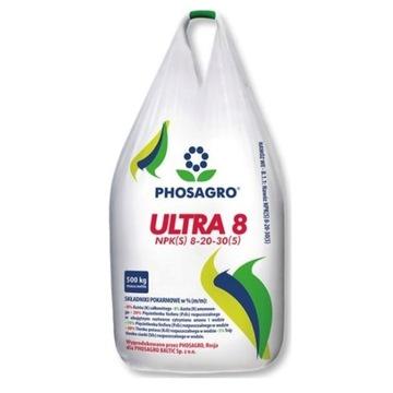 Ultra 8 NPK(S)8-20-30 500kg BB
