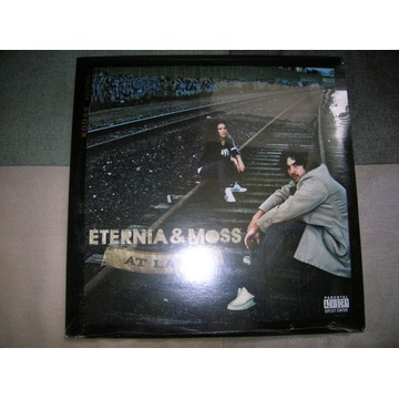 Eternia & Moss - At Last 2LP z USA FOLIA Boom Bap