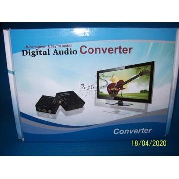 Konwerter audio analogowo cyfrowy digital