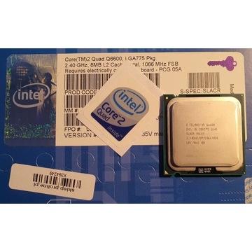 Intel Core2 Quad Q6600 8MB 2,4GHz FSB1066MHz SLACR