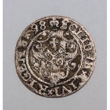 Szeląg ryski 1598r.Zygmunt III Waza