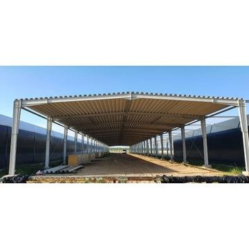 Hala stalowa, konstrukcja stalowa 15x66x5 m