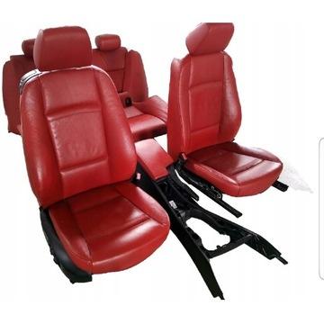 Skóry Fotele Boczki BMW E92 (wersja europejska)