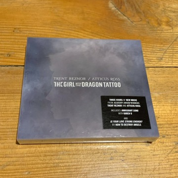 TRENT REZNOR - THE GIRL WITH THE DRAGON TATTOO 3CD