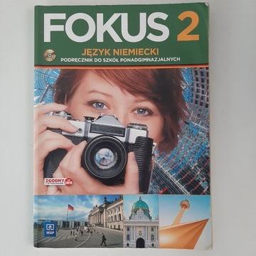 Podręcznik do niemieckiego Fokus 2 do szkół ponadg