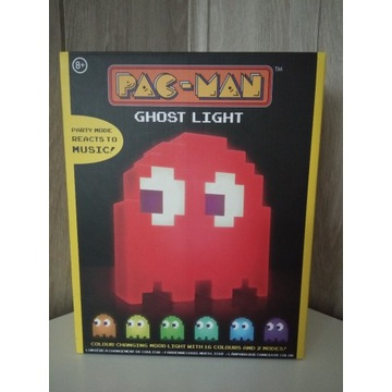 Lampa Pac-man Ghost zmienia kolor nowa!