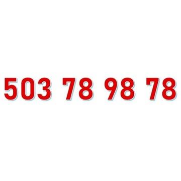 503 78 98 78 STARTER NJU ORANGE ŁATWY ZŁOTY NUMER