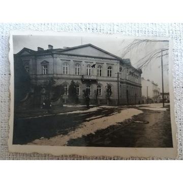 Zdjęcie Piotrkowa z czasów okupacji
