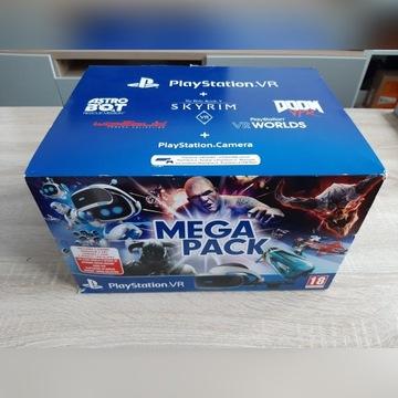 SONY PS VR PS4 + KAMERA + PS MOVE + KARABIN + GRA