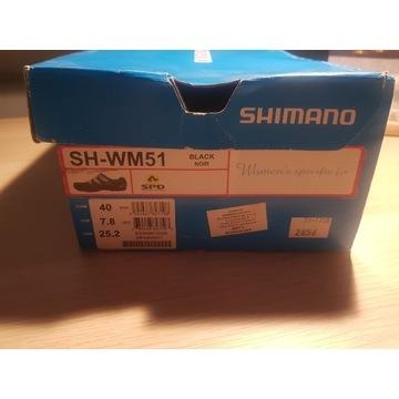 Buty rowerowe damskie Shimano SH-WM51