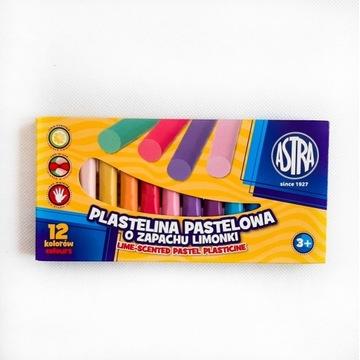 Plastelina pastelowa ASTRA