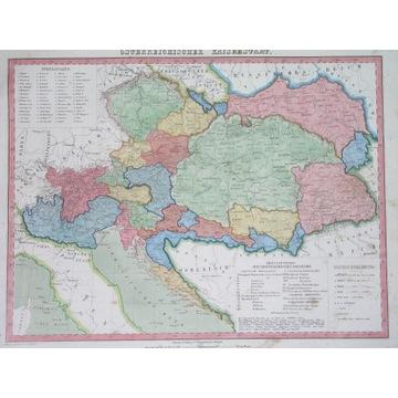 1856 MAPA GALICJA KRAKÓW TARNÓW SANOK PRZEMYŚL