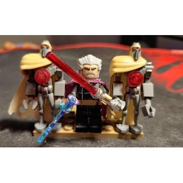 Lego hrabia dooku i magna guards UNIKAT