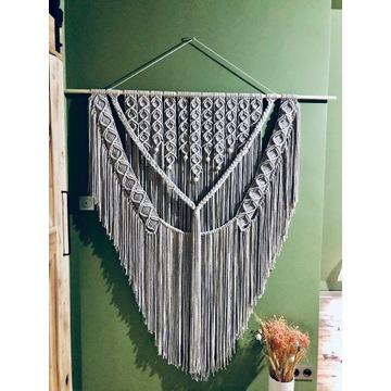 Makrama boho - ogromna - handmade - 150x170 cm
