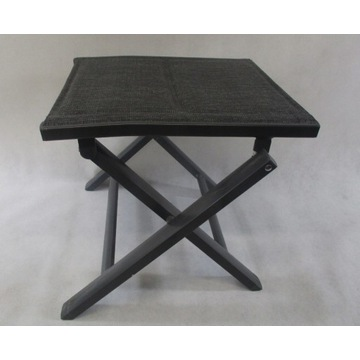 Krzesło wędkarskie taboret szare 40x40cm promocja