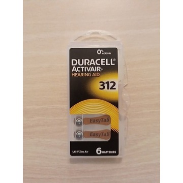 Duracell activair 312 Baterie do aparatu 28 szt