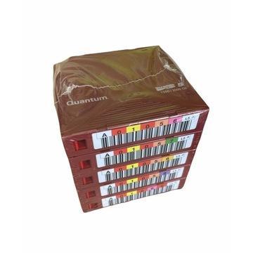 Quantum LTO 5 zestaw 5x w folii z barcodem 1.5/3TB