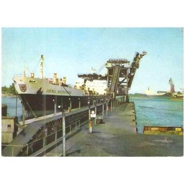 SZCZECIN-PORT - STATEK - ZIEMIA SZCZECIŃSKA - 1970