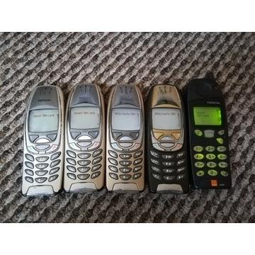 Zestaw zabytkowych Nokia 6310i Nokia 5130 Sprawne