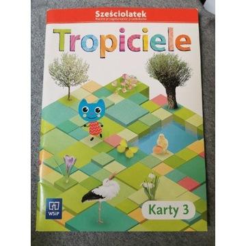 Tropiciele sześciolatek karty 3 nowe nauka dziecko