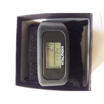 Opaska sportowa Vitalmaxx -zegarek,krokomierz
