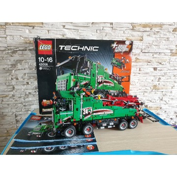 Lego Technic 42008 Service Truck / Ciężarówka