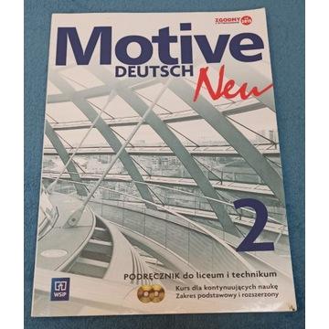 Motive Deutsch Neu 2 podręcznik liceum technikum