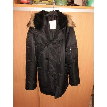 kurtka zimowa Alaska N3B L czarna