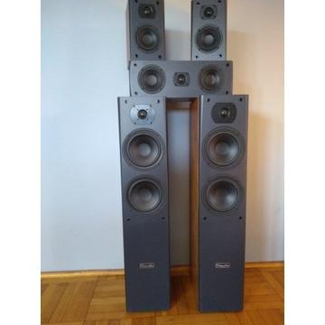 Kolumny 5.0 M-Audio HCS 9920 + amplituner Sony str
