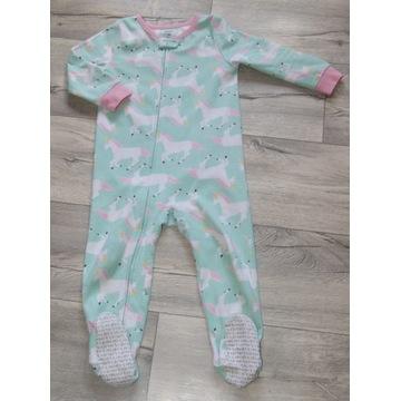 Carter's pajac piżama w jednorożce r. 3t ok. 92cm