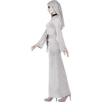 Smiffy's 43728 kostium gotycka zakonnica, sukienka
