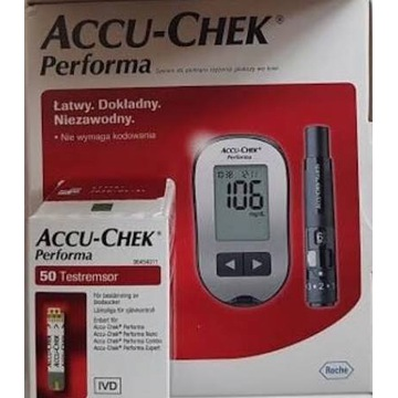 Glukometr Accu Chek Performa + 50szt. pasków