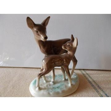 Figurka SARENKI porcelana sygnowana Sarenka.