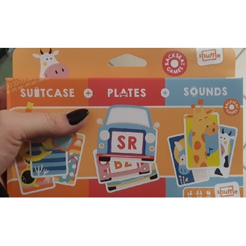 Backseat games shuffle karty