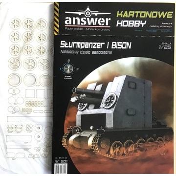Sturmpanzer I BISON+ lasery