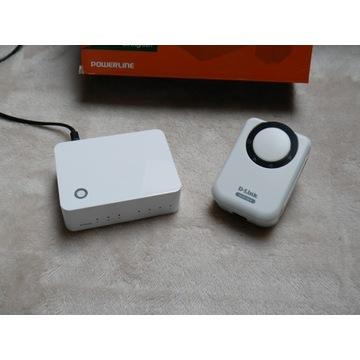 Zestaw D-Link PowerLine HD Starter Kit (DHP-343)