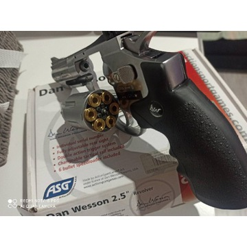Dan Wesson cal. 4,5mm. Nowy