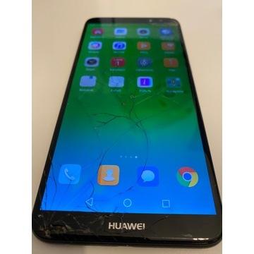 TELEFON HUAWEI MATE 10 LITE - uszkodzona szybka