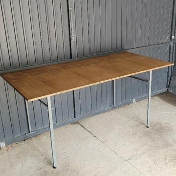 Stół warsztatowy składany, garaż blaszak 180x87 cm