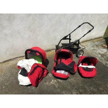 Wózek dziecięcy modułowy - Duża gondola!