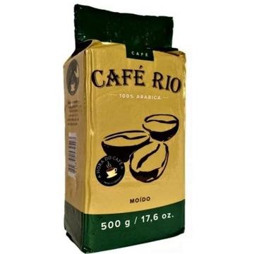 CAFE RIO 100% ARABICA BRAZYLJA MIELONA KAWA 500 G