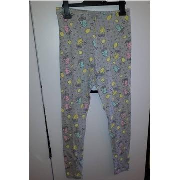 Nowe legginsy we wzorki