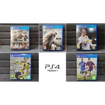 Watch Dogs / For Honor / Fifa 15 / 17 / 18  PS4
