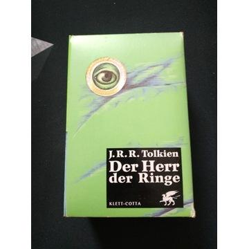 Władca pierścieni - wydanie niemieckie Tolkien