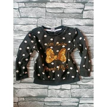 Disney Baby r 92 w grochy Myszka Mickey bluza